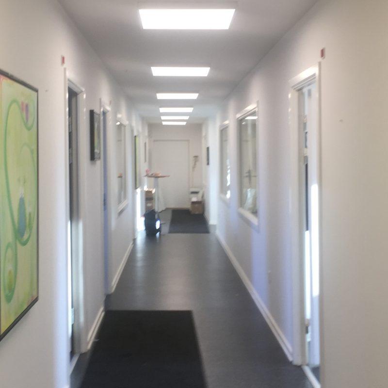 LED paneler Aaen og co kontor