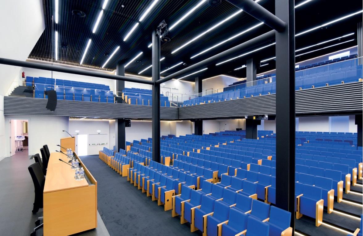 REBA LED lys Auditorium